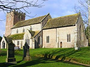 English: Almeley Church, Almeley, Herefordshire.