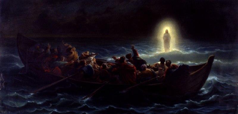 File:Amédée Varint - Christ marchant sur la mer.jpg