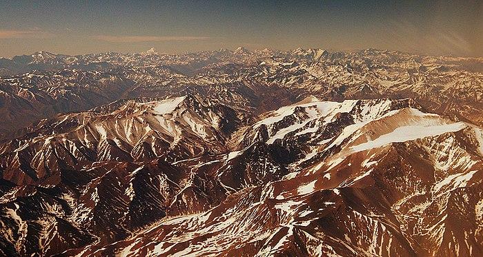Cordilheira dos Andes  Wikipdia a enciclopdia livre