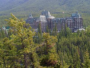 English: Banff Springs Hotel Deutsch: Das Fair...