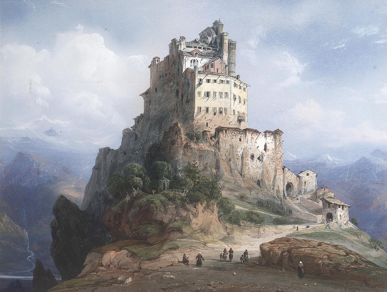 FileCarlo Bossoli  Il Monastero di San Michele Italia