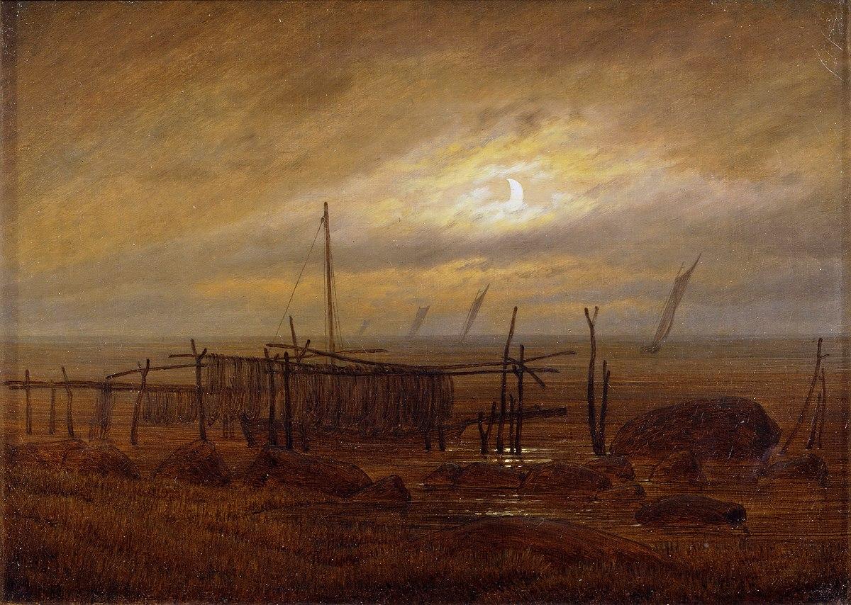 Bord De Mer Au Clair De Lune Wikipdia