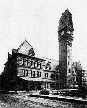 Chicago Dearborn (or Polk St.) (1883): a stati...