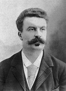 Guy de Maupassant fotograferad av Félix Nadar 1888.jpg