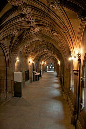 John Rylands Library, Manchester, England.