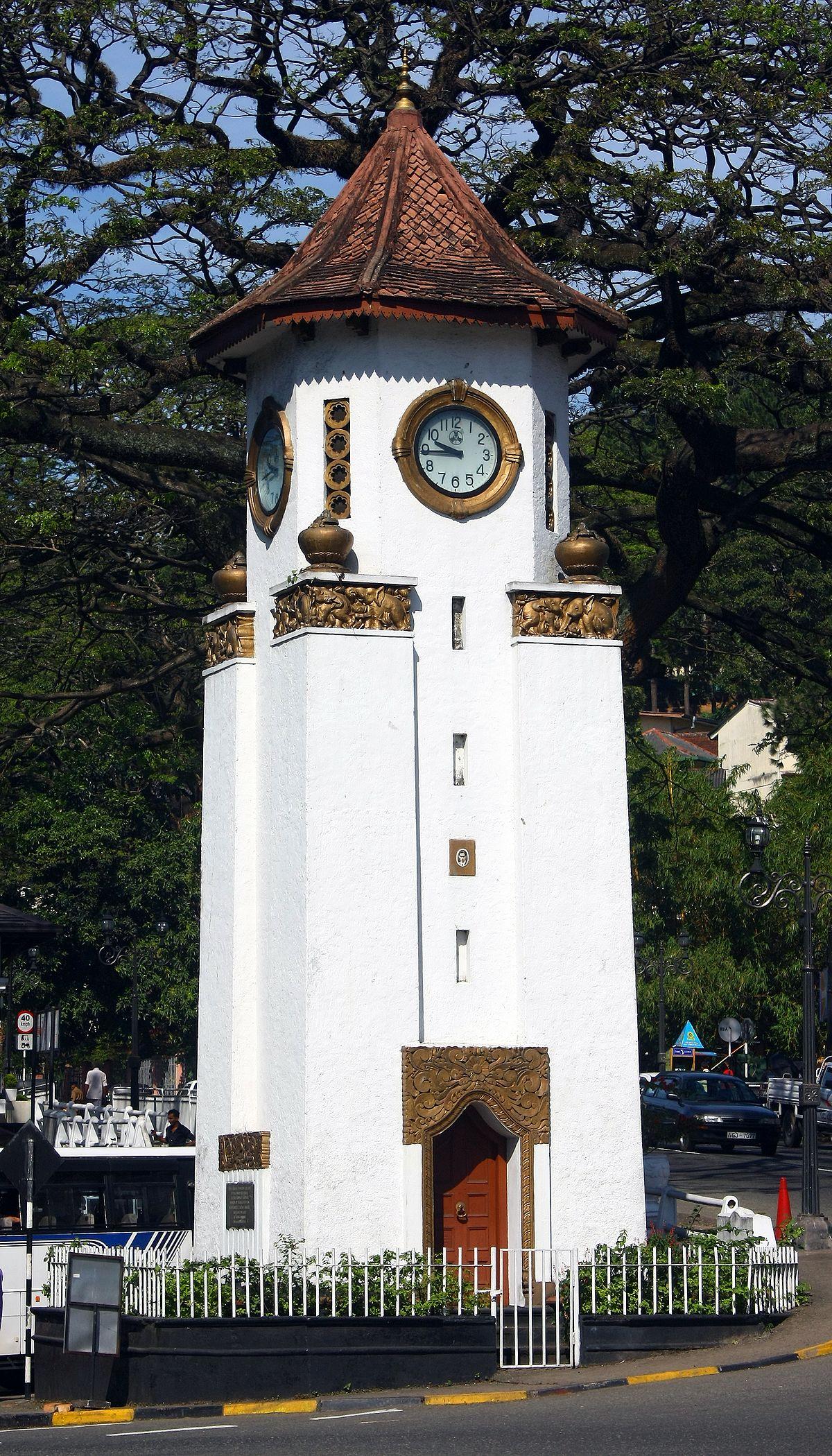 Kandy Clock Tower Wikipedia