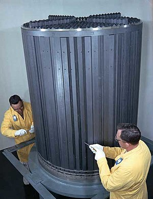Graphite Molten-Salt Reactor Experiment core