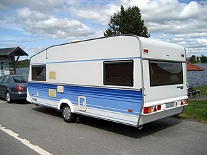 English: A Polar 550 GLS travel trailer.