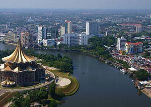 Bandar raya Kuching  Wikipedia Bahasa Melayu