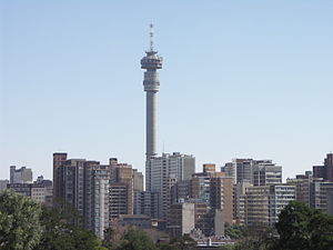 English: Hillbrow and the Hillbrow Tower