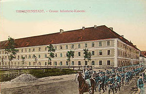 Deutsch: Theresianstadt, Große Infanteriekaserne