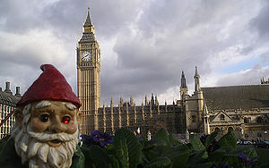 "A picture of a ""liberated"" gnome at ..."