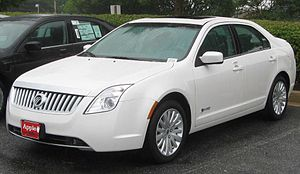 2010 Mercury Milan Hybrid photographed in Colu...