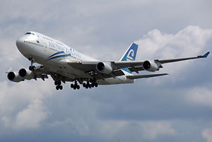 Air New Zealand flies over 11,400 miles from A...