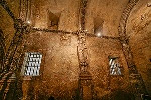 Lateral de la cámara santa de Oviedo