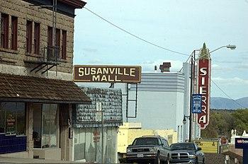 Downtown Susanville, CA