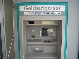 Picture of an ABN AMRO ATM