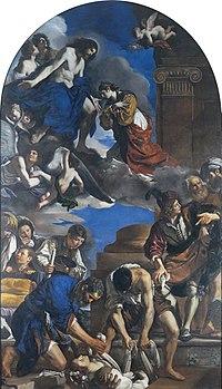 Sepoltura e gloria di santa Petronilla  Wikipedia