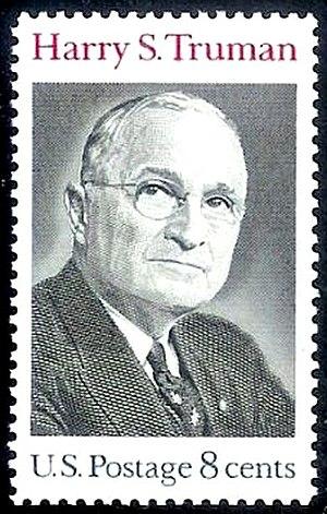 English: US Postage stamp: Harry. S. Truman, I...