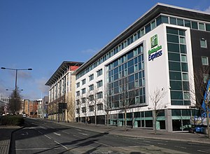 English: Holiday Inn Express, Newcastle