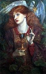Graalul Sfânt, de Dante Gabriel Rossetti