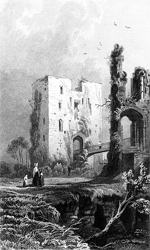Raglan Castle by B. B. Woodward in History of ...
