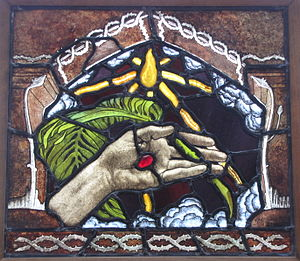 The Hand of Christ / The Palm of Peace