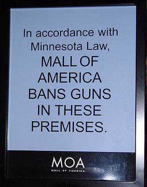 In accordance with Minnesota Law, Mall of Amer...