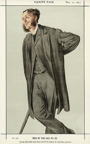 Caricature of Matthew Arnold (1822-1888). Capt...