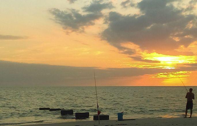 Naples Florida Sunset Fishing