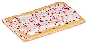 English: A Raspberry Pop-Tart.