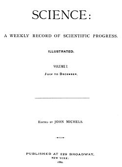 Science Journal Wikipedia