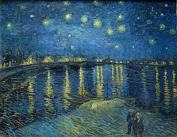 Vincent van Gogh: Starry Night Over the Rhone ...