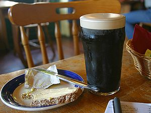 Pint of stout from pdphoto.org