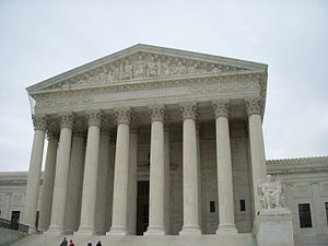 U.S. Supreme Court building.