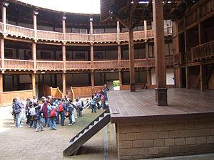 Italiano: Ricostruzione in legno del Globe The...