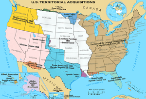 This image depicts the Territorial acquisition...