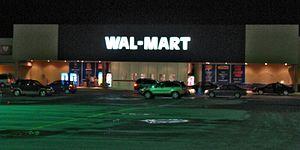 Wal-Mart de Chicoutimi, dans l'ancien édifice ...