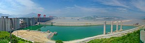 Three Gorges Dam is the largest hydro-electric...