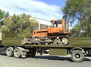 Deutsch: Ein Bulldozer basierend auf dem Trakt...