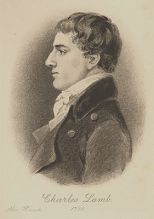 English: Charles Lamb (1775-1834), an English ...
