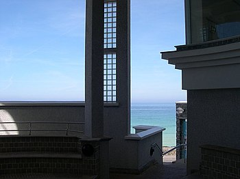 English: From the Atrium of the Tate St Ives. ...