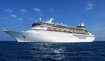 English: MS Majesty of the Seas, one of Royal ...