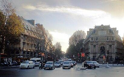 Boulevard SaintMichel Paris  Wikipdia