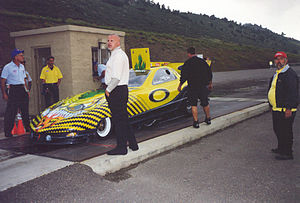Scotty Cannon, Denver 1999. Cannon is an NHRA ...