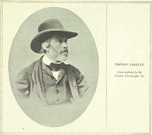 Thomas Carlyle - From a photo by the London St...
