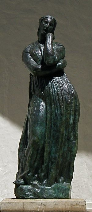 'La Grande Penelope', bronze sculpture by Anto...
