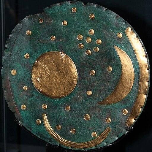 1600 Himmelsscheibe von Nebra sky disk anagoria