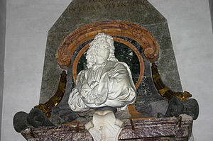 Santa Maria degli Angeli in Rome, Italy: bust ...