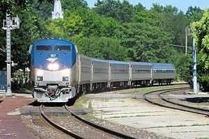 Amtrak Missouri River Runner train#313 pulling...